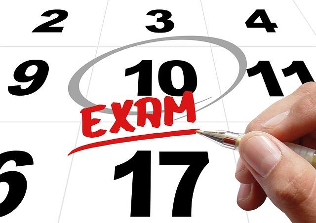 Resultado de imagen de Calendario examenes