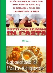 taller de pasta