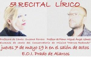 recital canto 2015