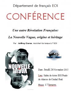 Conferencia frances
