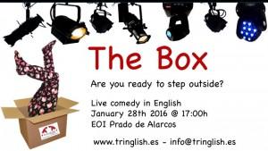 Conferencia The box