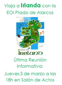 Viaje Irlanda reunion marzo
