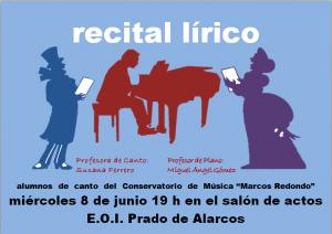 Recital de canto